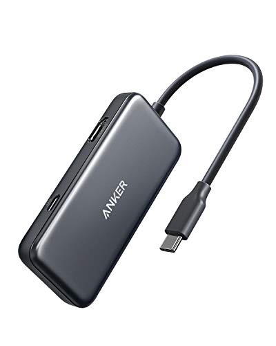 Anker 3-in-1 USB-C Hub Adapter, mit 60W Power Delivery, 4K USB-C auf HDMI  Output, USB 3 0, für MacBook Pro 2016/2017 / 2018, iPad Pro 2018,