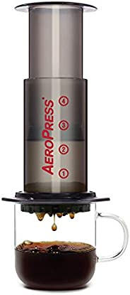 AeroPress Coffee and Espresso Maker - Quickly Makes Delicious Coffee Without Bitterness - 1 to 3 Cups Per Pres