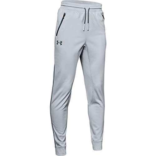 Under Armour Jungen Pennant Tapered Pants, Jungen, Pennant Tapered Pant, Mod Gray (011)/Wire, Youth X-Large