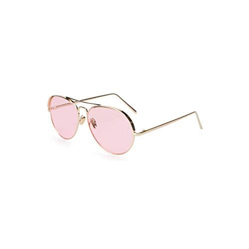 Daawqee Prämie Sonnenbrillen,Brillen, Transparent Aviation Sunglasses Women Men Black Pink Yellow Sun Glasses For Female Summer Beach Sunglass NEW