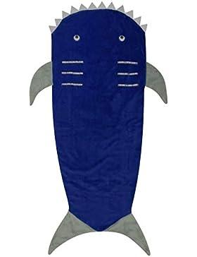 A2Z 4 Kids® Kinder Decke Meerjungfrau Schwanz Krokodil Einhorn Haifisch Weiche Vlies Decken Schlafsack Schicke...