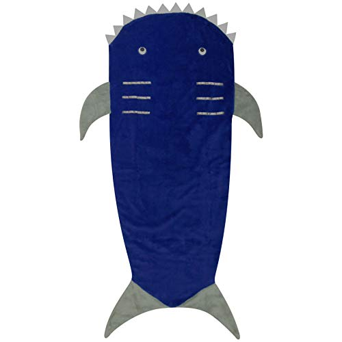 Decke Schicke Kleider - Blanket. Shark One Size ()