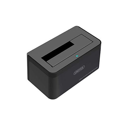 """Unitek Y-1078 Dockingstation USB3.0-Festplatte für SATA 2, 5""""/3, 5"""" Schwarz"""