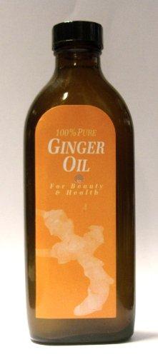 100% pure huile de gingembre mélangée à l'huile d'amande douce. 150ml
