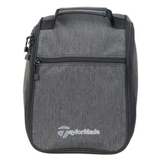 TaylorMade Golf 2018 Mens Classic Shoe Bag / Tote Bag Grey/Black