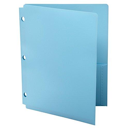 2 Snapper (Wilson Jones Snapper Ordner, Brief Größe, zwei Taschen, sortiert (Farbe ausgewählt kann variieren) (a7040038))