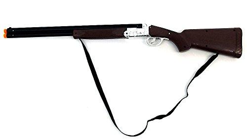 Brigamo 05061 - Batteriebetriebenes Western Gewehr Flinte Elektrisches Gewehr inkl. Schußgeräusch (Legendären Halloween Kostüme)