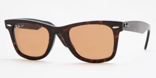 Ray ban occhiali da sole rb2140 original wayfarer - 902/4i: tartaruga - 47mm