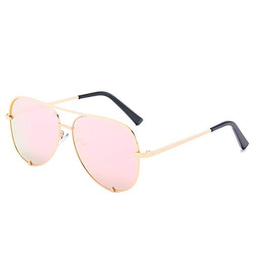 FIRM-CASE Neue Art und Weise Sonnenbrille Frauen übergroße Brille Pilot Sun für Frauen Luxury Shades New Lunettes Femme, 2