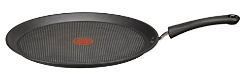 Tefal C6211602 -Talent Pro sartén para tortitas, aluminio negro, 32cm