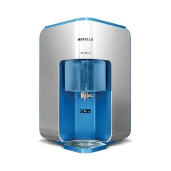 Havells UV Plus 8-litres UF Water Purifier (White/Sky Blue)
