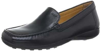 Geox  D WINTER EURO2, Mocassins (loafers) femme - Noir - Noir (c9997), 36 EU (3 Damen UK)