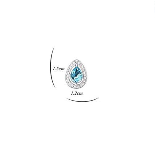 Erica Boucles d'oreilles plaqué or scintillant autrichienne Crystal-Drop Boucles d'oreilles cadeau parfait pour les femmes de mariage #1