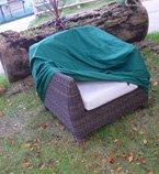 Rattan Chair Cover