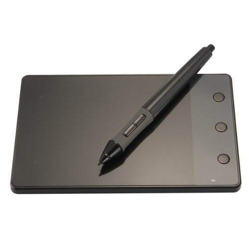 Huion H420 OSU Grafiktablett USB-Schreibpad mit Batterie Digital-Stift 10 x 5,67 cm