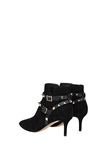 LW2S0625CND0NO Valentino Garavani Chaussure mi montantes Femme Chamois Noir Noir