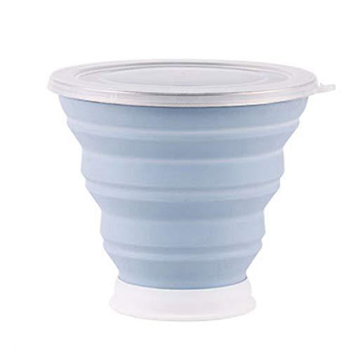 allack-Wasser-Silikon-Schalen, die Gurgeln-Schale für Reise-Kaffeetassen im Freien einziehbare Drinkware-Werkzeuge Falten ()