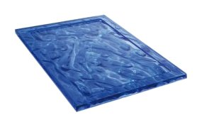Kartell 1200VB Plateau Dune (Bleu)