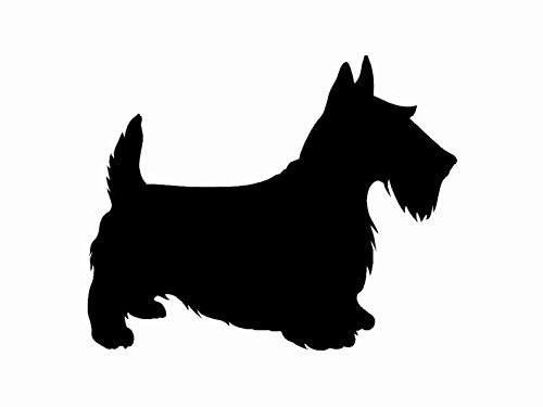 Celycasy Vinyl-Aufkleber, Motiv Scottish Terrier -