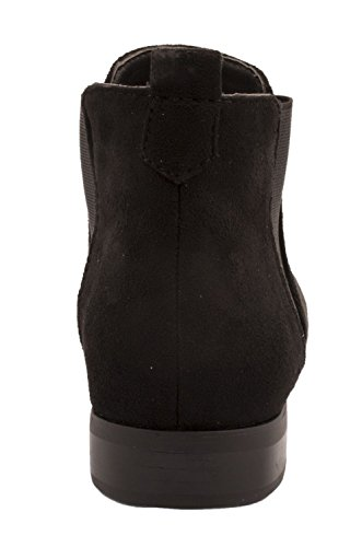 Elara Chelsea Boots | Bequeme Damen Stiefeletten | Lederoptik | chunkyrayan Schwarz State