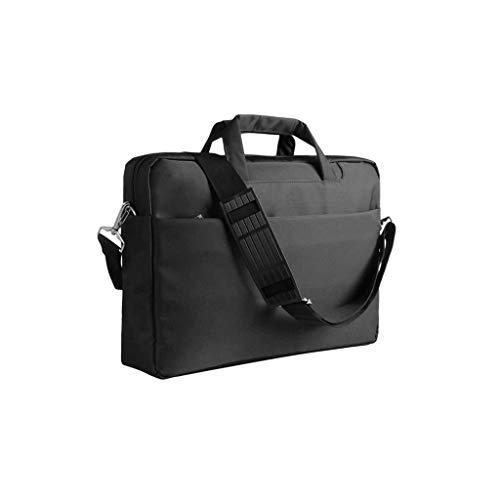 Laptoptasche for Frauen, Schlanke, Leichte Business-Aktentasche, Tragetasche for Tragbaren Computer Mit Griff (Color : Black, Size : 14inch) -