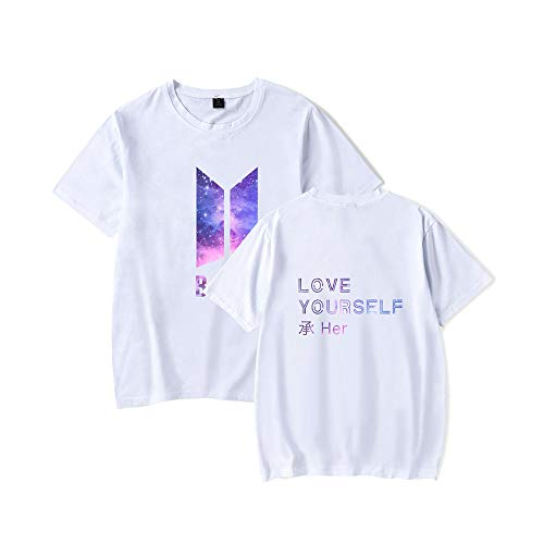 846c0f7a Zeruike Bangtan Boys Unisex KPOP BTS Love Yourself Tshirt Merchandise Jimin  Jin Suga J Hope Rap