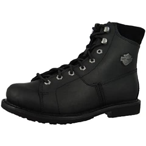 Harley Davidson Biker Boots D93112 Aaron Engineerstiefel Motorcycle Boots Negro