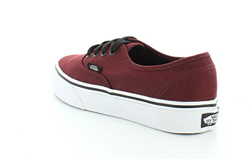 Vans Unisex-Erwachsene U Authentic High-Top Rot (port royale/bla 5U8)