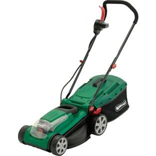 Qualcast Cordless Lawnmower - 36V. Test