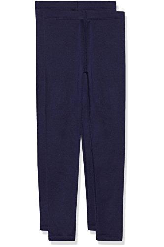 RED WAGON Mädchen Thermo-Leggings, 2er-Pack, Gr. 140 (Herstellergröße: 10), Blau (Navy)