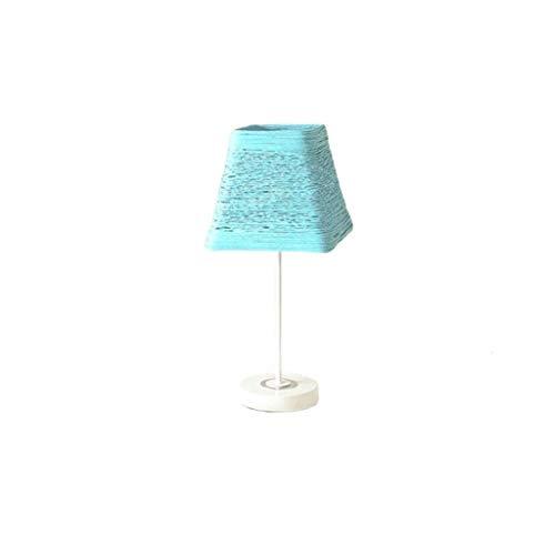 Lampada da Comodino Lampada da tavolo Lampada da comodino camera da letto moderna Minimalista Nordic Studio Desk Lamp creativa letteraria di personalità telecomando Dimming LED lampada da tavolo Lam