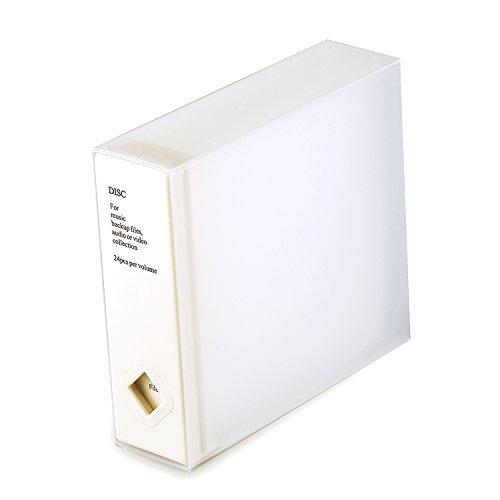 sparende Album CD - oder DVD-Aufbewahrungsbox für bis zu 120 Disketten (Weiß (Eins)) ()