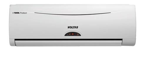 Voltas 122 DY Delux Y Series Split AC (1 Ton, 2 Star Rating, White, Aluminium)