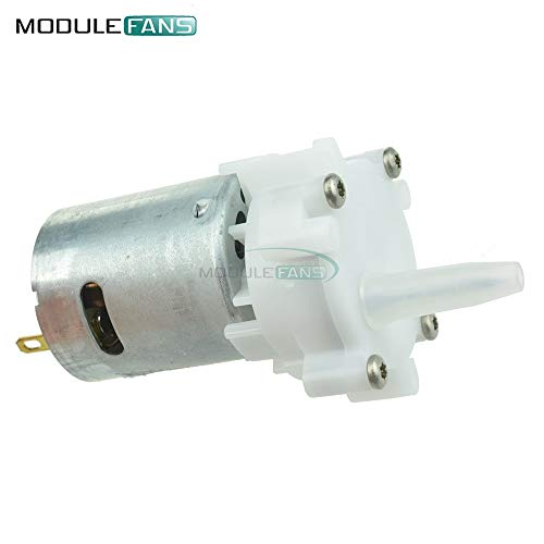 Mini-Wasser Getriebe Grundierung DC 3-12V RS-360SH Spray Pump Motor Aquarium Gear-Typ Pump Modell 4mm Auslass Verwendung für Aquarium DIY (Wasser Getriebe)