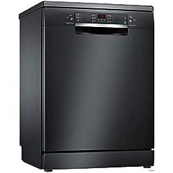 Bosch Serie 4 SMS46IB17E lave-vaisselle Autonome 13 places A++ - Lave-vaisselles (Autonome, Noir, Taille maximum (60 cm), Noir, boutons, LED)