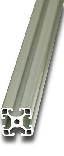 Aluminium Profil mit Nut Eloxiert Alu Schiene Aluprofil 30x30mm 1000mm