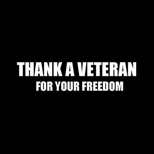 eber Vielen Dank An Veteran Für Ihren Kostenlosen Vinyl-Autoaufkleber USMC Marine Corps Naval Air Force 13.7Cm * 3.3Cm ()