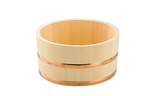 Yamako stile giapponese in legno furo-oke (lavandino) Hinoki 60145Made in Japan