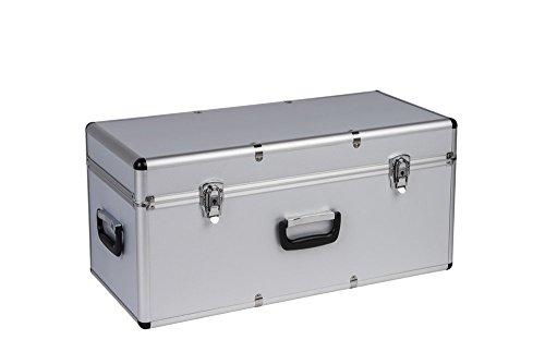 Hochwertige Transportkoffer aus Aluminium und ABS - schlagfest & ölbeständig - in verschiedenen Größen, Variante: Mittel