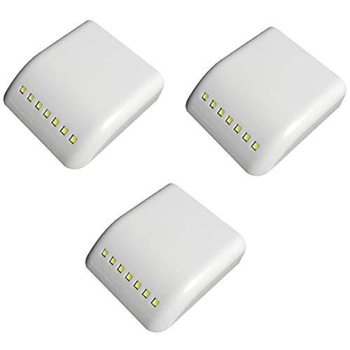 cht Universal 7 LED Innere LED Sensor Licht Für Küche Schlafzimmer Kabinett Schrank Kleiderschrank 3 Stücke ()