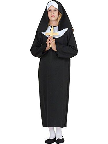 Lil hermana monja disfraz de niños