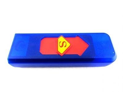 Elektro USB Feuerzeug Sturmfeuerzeug über USB aufladbar Supermandesign von KY-Tech auf Lampenhans.de