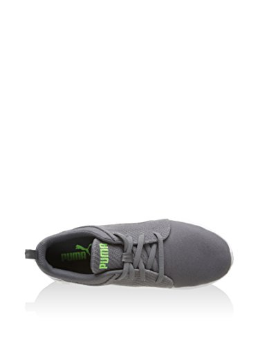 Puma Schuhe Carson Runner Canvas Herren steel gray-white-green gecko (189298-05)