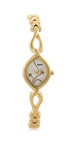 Espoir Analog White Dial Women's Watch-ES45874