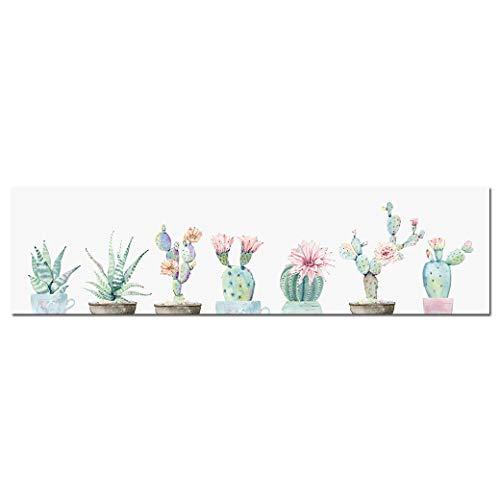 Ai Ya-hua Flor De Cactus Planta Decoración Mural
