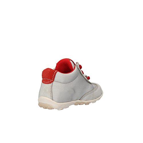 BALDUCCI Sneakers Bambino Camoscio Tessuto Pelle (17 EU, Rosso/Grigio)