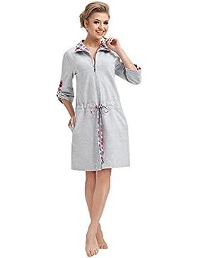 8cc648a62a LEVERIE Accappatoio doccia per donna di tendenza/Vestaglia/Accappatoio spa  con soffice cappuccio