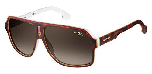 Carrera Unisex-Erwachsene 1001/S SP C9K Sonnenbrille, Weiß (Havana White/Gd Gold), 62