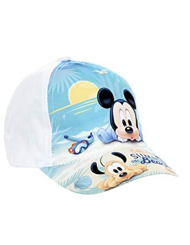 Casquette bébé Enfant Disney Mickey Bleu et Blanc de 9mois à 3ans - Bleu, d3a2ec28446
