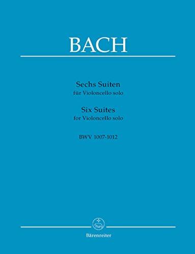 Six Suites pour Violoncelle Bwv 1007-1012 por Bach Jean Sebastien